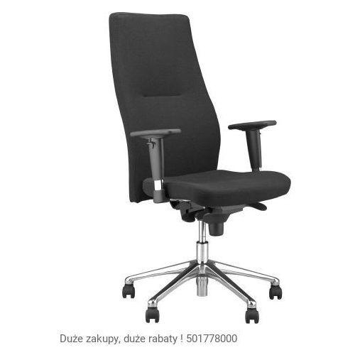 Fotel biurowy orlando hb r16h steel 28 chrome marki Nowy styl
