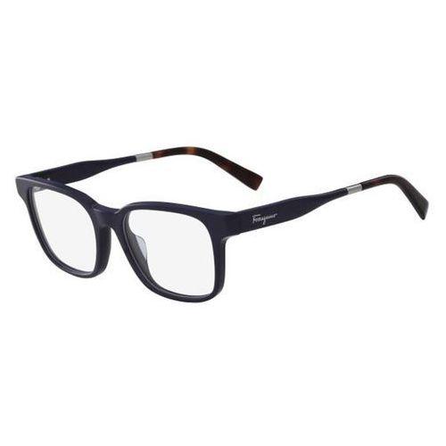 Okulary korekcyjne sf 2787 408 marki Salvatore ferragamo