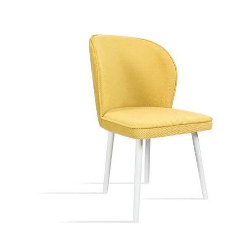 B&d Krzesło rino miodowy/ noga biała/ lu2784