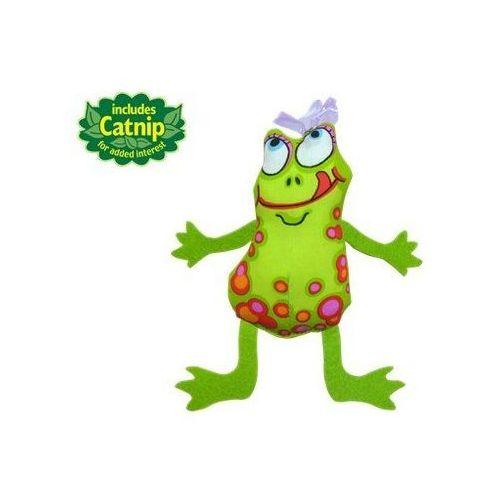 pluszowa żaba z kocimiętką marki Petstages