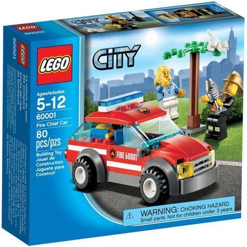 Lego CITY Samochód komendanta straży pożarnej 60001