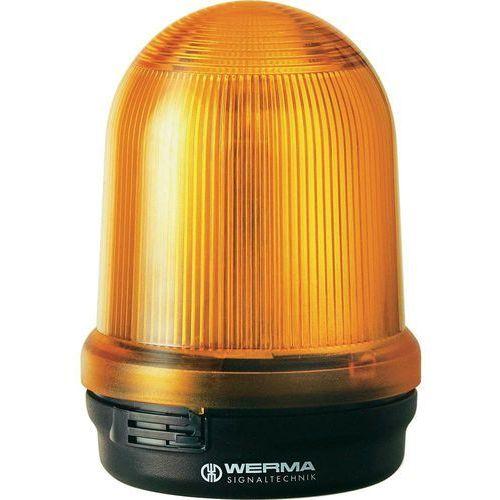 Sygnalizator świetlny LED Werma Signaltechnik 829.120.55, Flesz, IP65, czerwony, 829.120.55