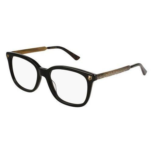 Okulary korekcyjne gg 0218o 001 marki Gucci