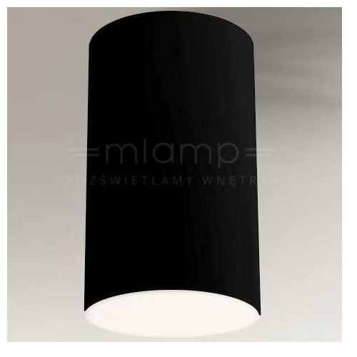 Downlight lampa sufitowa arao 1178 natynkowa oprawa tuba czarna marki Shilo