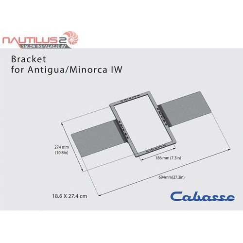 Cabasse bracket box for archipel 13 & 17 - dostawa 0zł!
