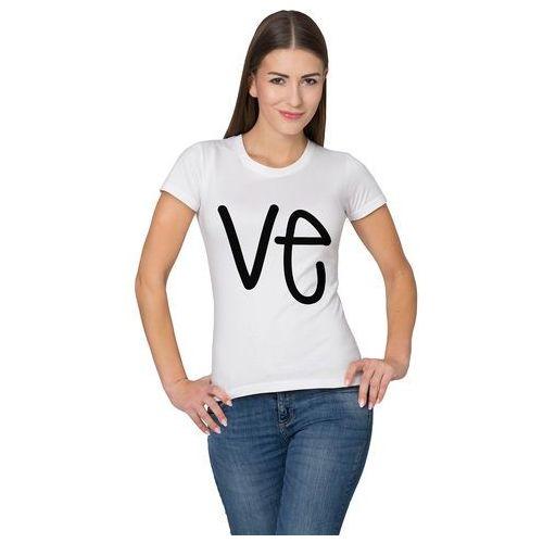 Koszulka VE, kolor biały