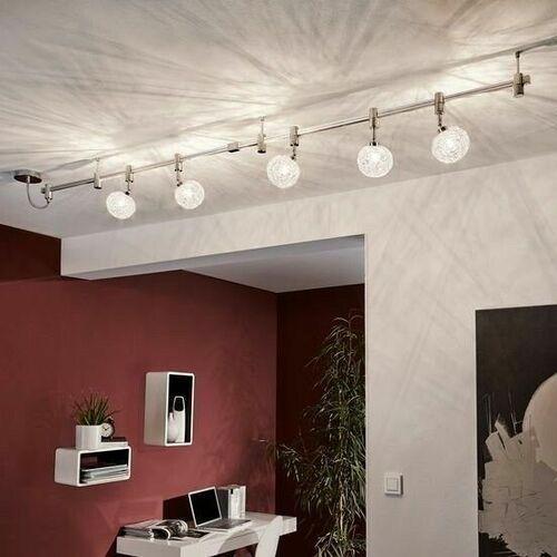 Eglo VILANOVA lampy sufitowe listwy Aluminium, 5-punktowe - Nowoczesny - Obszar wewnętrzny - VILANOVA - Czas dostawy: od 3-6 dni roboczych (9002759933616)