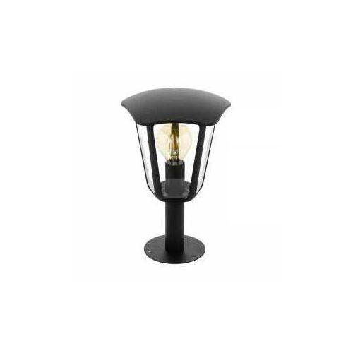 Eglo monreale 98122 lampa stojąca ogrodowa ip44 1x60w e27 czarny/transparentny (9002759981228)