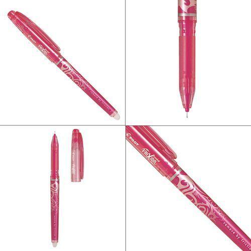 Długopis żelowy frixion point różowy fine marki Pilot