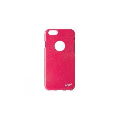 Brokatowa nakładka etui beeyo Spark do iPhone 5 / 5S różowa (5900495377838)