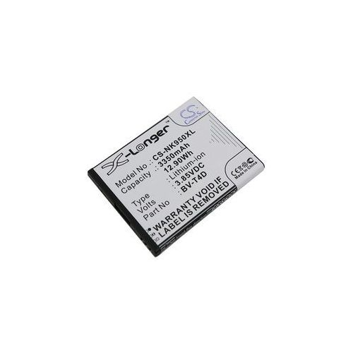 Nokia Lumia 950 XL / BV-T4D 3350mAh 11.51Wh Li-Ion 3.85V (Cameron Sino), CS-NK950XL
