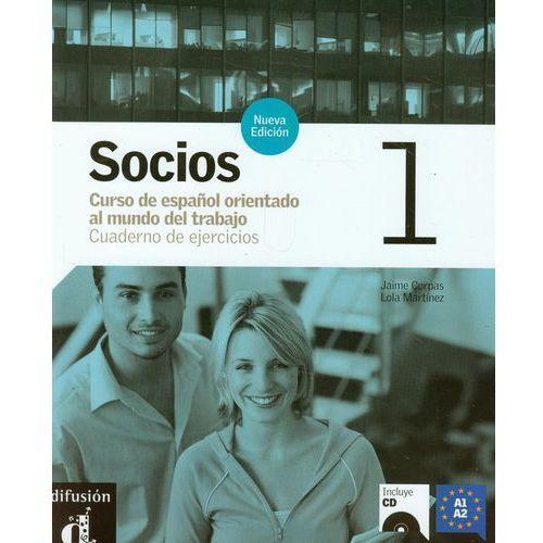 Socios 1 Ćwiczenia + Cd, oprawa miękka