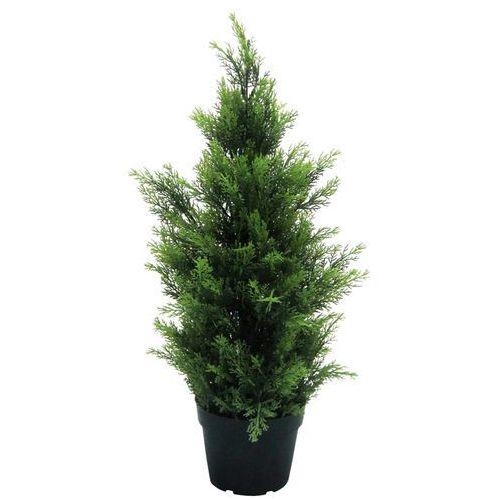 Sztuczne drzewo cyprys 60 cm drzewko cyprysowe - cyprys 60 cm marki Greentree