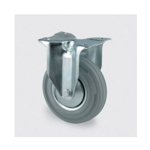 Koła przemysłowe z maksymalnym obciążeniem 70-205 kg, szara guma (4031582306231)