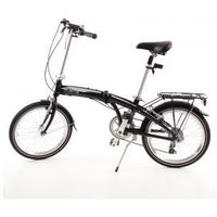 Aluminiowy rower składany SKŁADAK MIFA 7- biegów SHIMANO z bagażnikiem - produkt dostępny w DostawaNaJutro.pl - sportowe...rowerowe...
