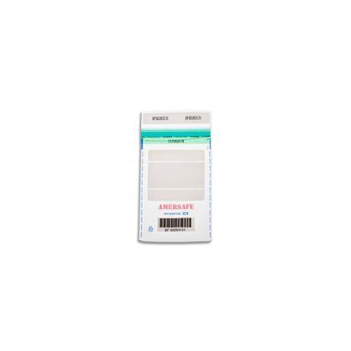 Koperty bezpieczne transparentne k70 (a5) (500 szt.) (przezroczyste) marki Amersafe