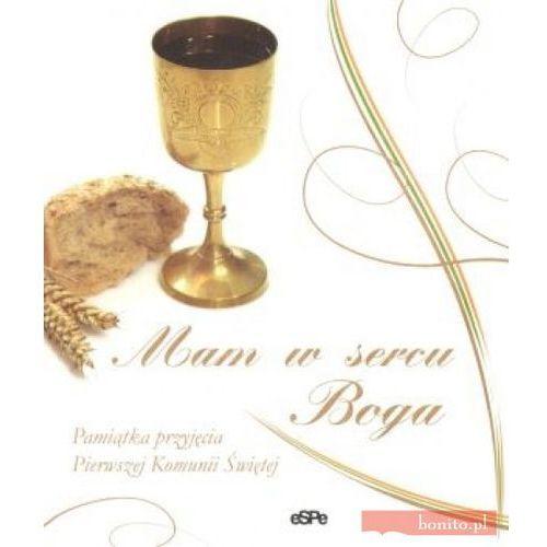 Mam w sercu boga!. pamiątka przyjęcia pierwszej komunii świętej marki Espe