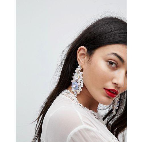 ALDO Pastel Floral Chandelier Earrings - Multi