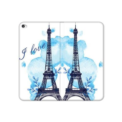 etuo Flex Book Fantastic - Apple iPad Air 2 - etui na tablet Flex Book Fantastic - niebieska wieża eiffla, ETAP143FBFCFB107000