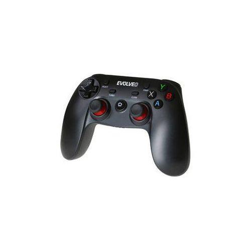 Gamepad fighter f1 pro pc, ps3, android, android box (gfr-f1) czarny marki Evolveo