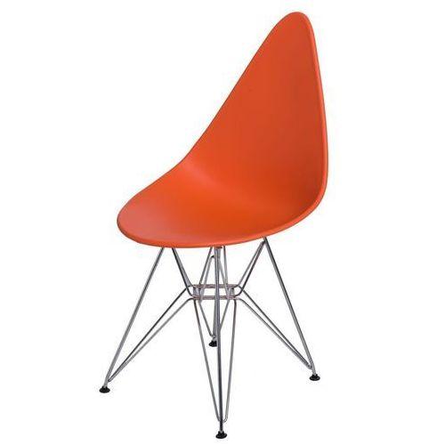 Krzesło Rush DSR pomarańczowe, kolor Krzesło