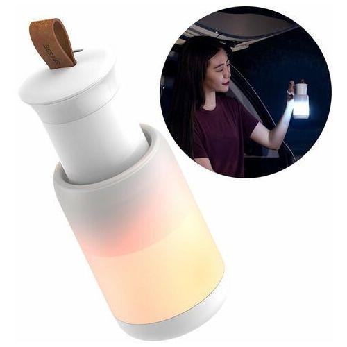 Baseus bezprzewodowa magnetyczna lampka lampa LED do domu samochodu auta biały (CRYJD01-A02)