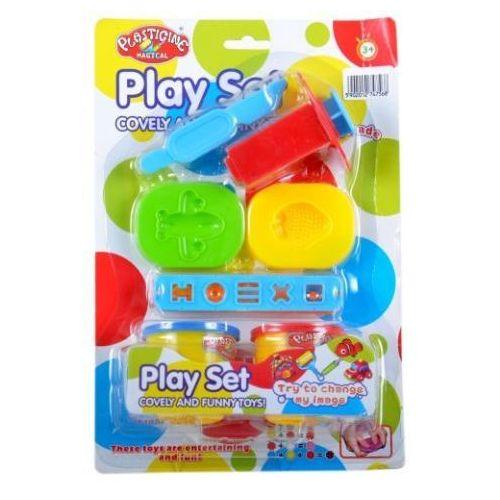 Mega creative Plasticine - masa plastyczna z akcesoriami 2 kolory -