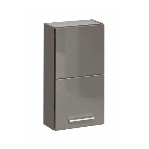 COMAD szafka wisząca górna Twist grey TWISTGREY830, kolor szary