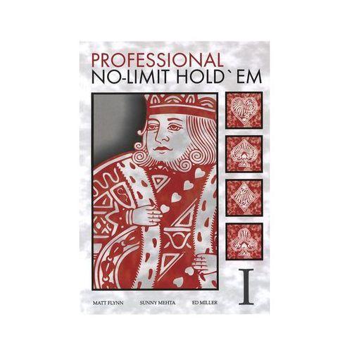 Książka professional no-limit hold`em marki P.w.euro-tech anita gibas