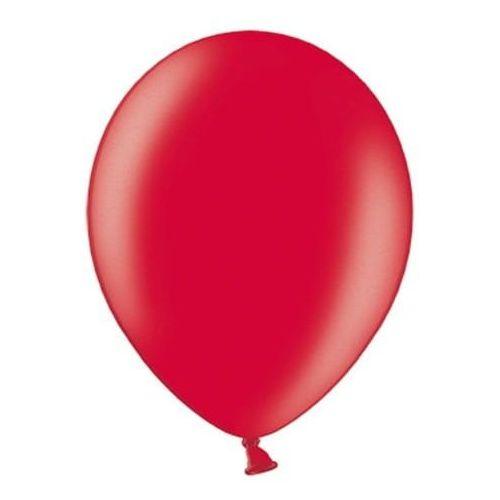 """Party world Balony 12"""" strong, czerwone, metaliczne 100 szt."""