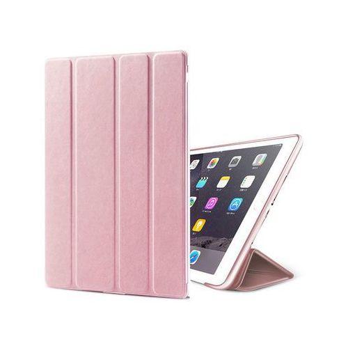 Etui Alogy Smart Case Apple iPad 2 3 4 silikon Różowe + Szkło - Różowy
