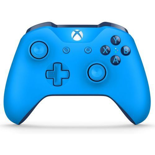 Kontroler xbox one niebieski + zamów z dostawą w poniedziałek! marki Microsoft