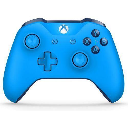 Kontroler xbox one s niebieski + zamów z dostawą w poniedziałek! + darmowy transport! marki Microsoft