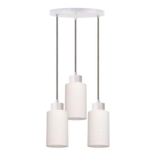 SPOT-LIGHT BOSCO Lampa wisząca Dąb bielony/Czarno-biały 3XE27-60W 1714532 (5901602342848)