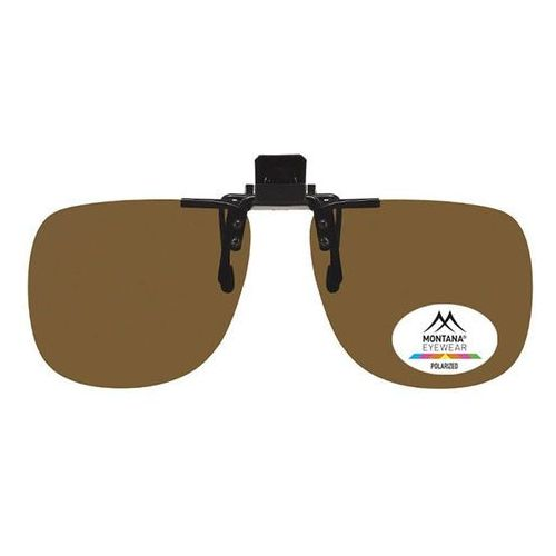 Okulary Słoneczne Montana Collection By SBG 1969 Clip On Polarized no colorcode, kolor żółty
