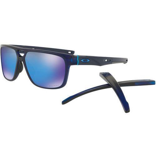 crossrange patch okulary rowerowe niebieski/czarny 2018 okulary przeciwsłoneczne marki Oakley