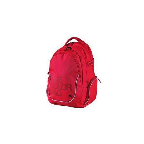 Stil Plecak szkolny teen one colour czerwony
