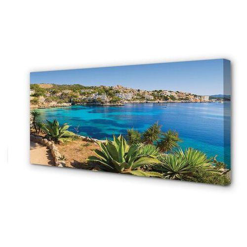 Obrazy na płótnie Hiszpania Wybrzeże miasto morze