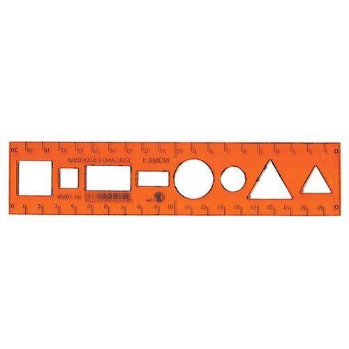 Szablon NOMA mały - symbole różne x1
