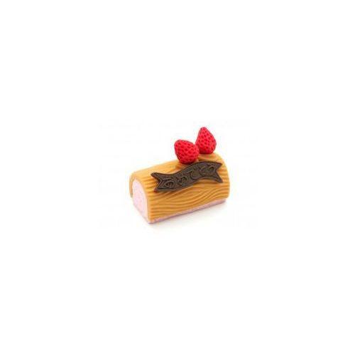 Gumka do ścierania - rolada truskawkowa marki Iwako