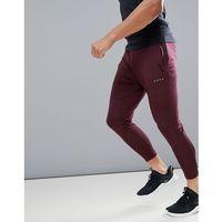 ASOS 4505 super skinny training jogger in burgundy - Red