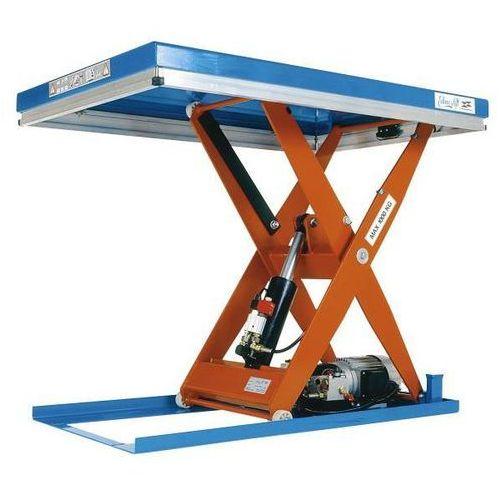 Kompaktowy stół podnośny, stacjonarny, udźwig 500 kg, dł. x szer. platformy 900x marki Edmolift hebetechnik