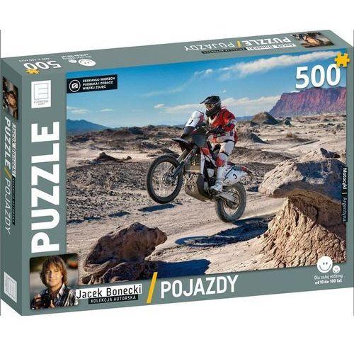 Edipresse książki Puzzle 500 motocykl pojazdy kolekcja jacka boneckiego