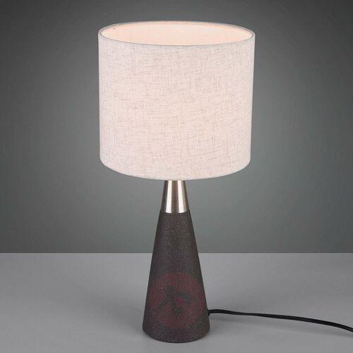 Trio RL Memphis R50339178 lampka stołowa lampa 1x42W E27 brązowy / płowy (4017807424447)