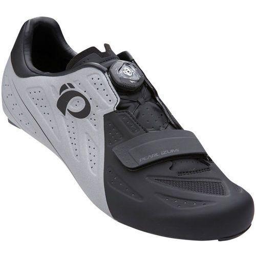 Pearl izumi elite road v5 buty mężczyźni szary/czarny 41 2018 buty rowerowe