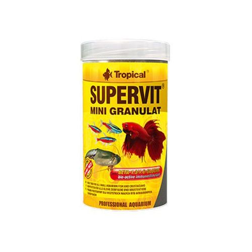 TROPICAL Supervit Mini Granulat - pokarm granulowany dla rybek 100ml/65g