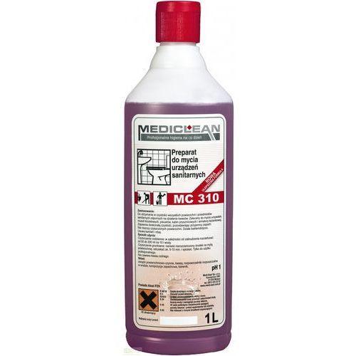MEDICLEAN MC 310 - 1L Preparat do mycia urządzeń sanitarnych, towar z kategorii: Pozostała chemia gospodarcza