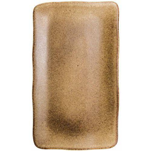 Fine dine Półmisek prostokątny brass | 365x210 mm