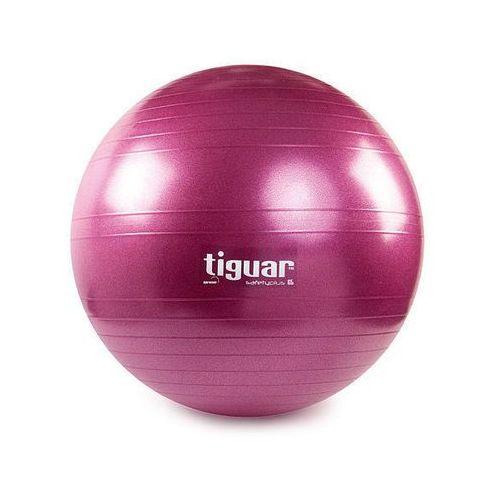 Piłka fitness safety plus - śliwka marki Tiguar