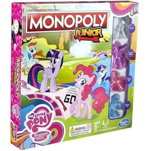 Hasbro Monopoly junior - my little pony